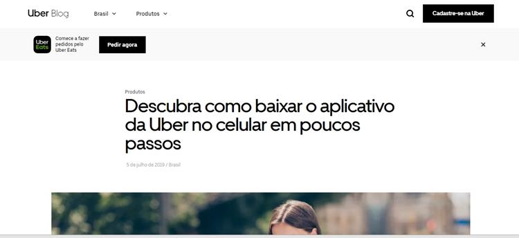 baixar aplicativo do uber